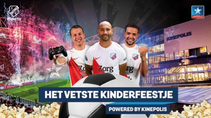 FC Utrecht organiseert het vetste kinderfeestje, powered by Kinepolis