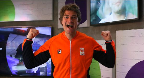 De 538 Ochtendshow met Frank Dane naar de Olympische Spelen