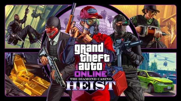 Binnenkort in GTA Online:  The Diamond Casino Heist (12 december)