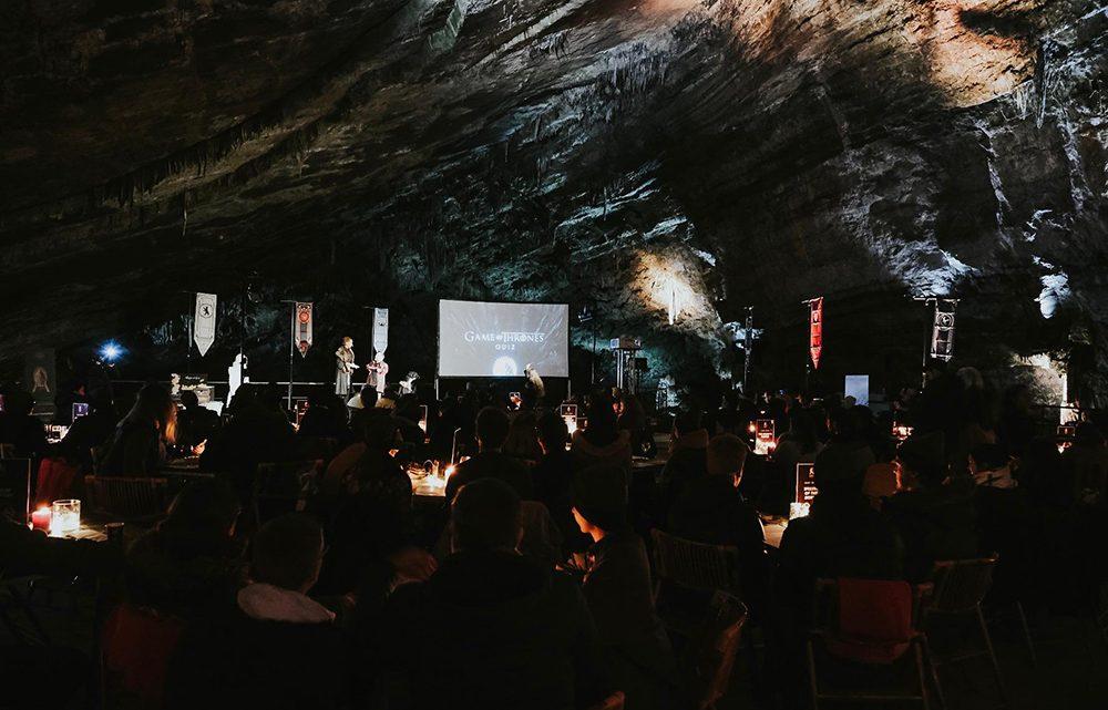 Fans vieren release laatste seizoen Game of Thrones met spectaculaire quiz in Grotten van Han!