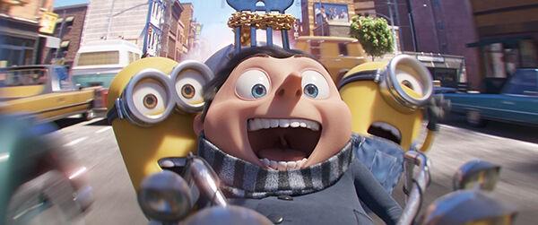 Bekijk de eerste trailer van Minions: Hoe Gru Superschurk Werd