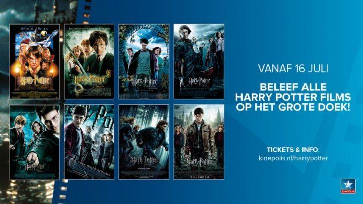 Een magische zomer bij Kinepolis:AlleHarry Potter-filmsvanaf 16 juli tezien