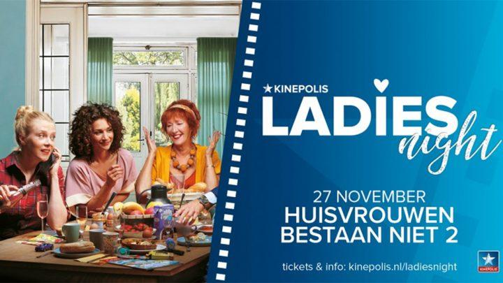 Tweede deel van Huisvrouwen Bestaan Niet in voorpremière tijdens Kinepolis Ladies Night