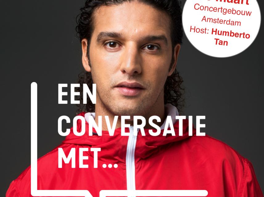 Humberto Tan eerste host van Een Conversatie Met…