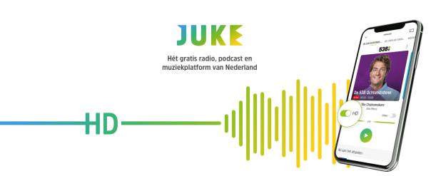 JUKE verrijkt audio platform met HD Audio