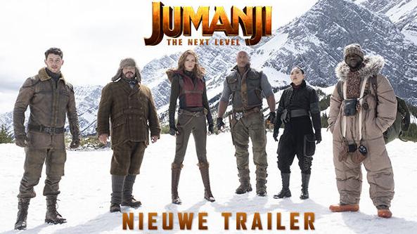 Nieuw trailer Jumanji: The Next Level