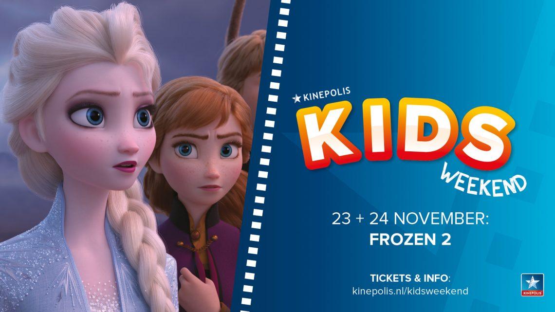 Kinepolis viert komend weekend grootste Kids Weekend ooit (bioscoop vol met verklede Frozen fans!)