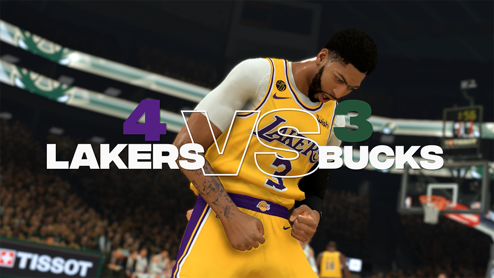 NBA 2K20 – Lakers winnen de #2KSim NBA Finals; Anthony Davis bespreekt de resultaten