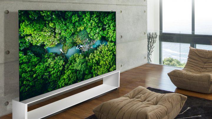LG toont volledige 8K-TV line-up op CES 2020