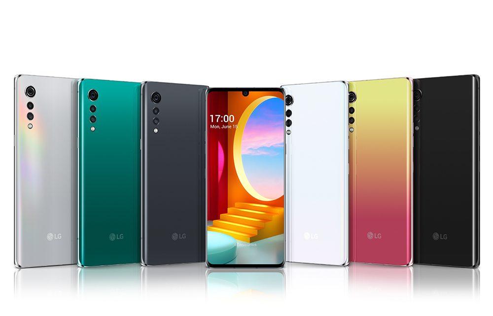 LG lanceert LG VELVET smartphone in Nederland en België