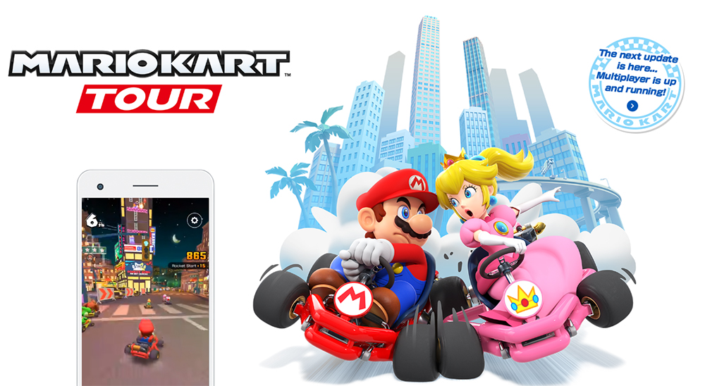 Mario Kart Tour voor smartphones introduceert multiplayer Team Racing