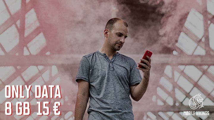 Mobile Vikings lanceert uniek tariefplan met enkel mobiele data