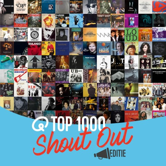 Luisteraars stellen Q-top 1000 samen