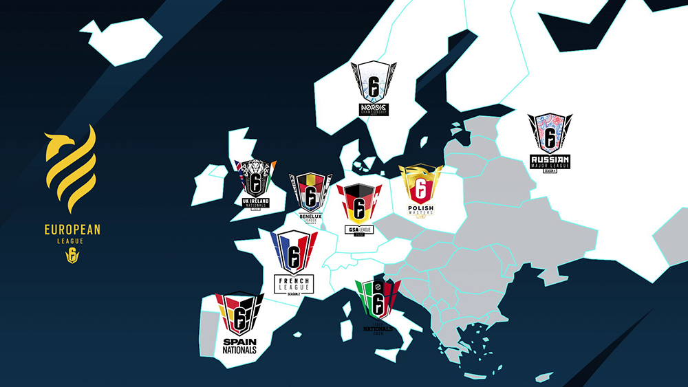 Rainbow Six European League start 22 juni