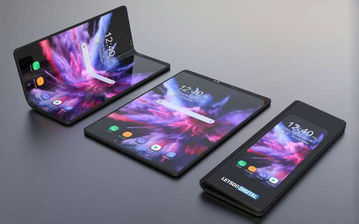 Samsung onthult opvouwbare Galaxy Fold telefoon