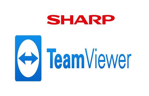 Sharp gaat samenwerking aan met TeamViewer om klanten op afstand te ondersteunen