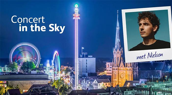 Nielson geeft 'Concert in the Sky' op Tilburgse Kermis