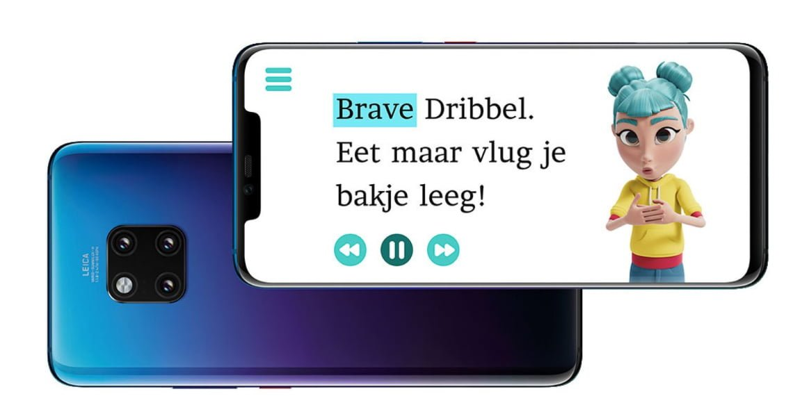 Huawei breidt gebarentaal-app StorySign uit