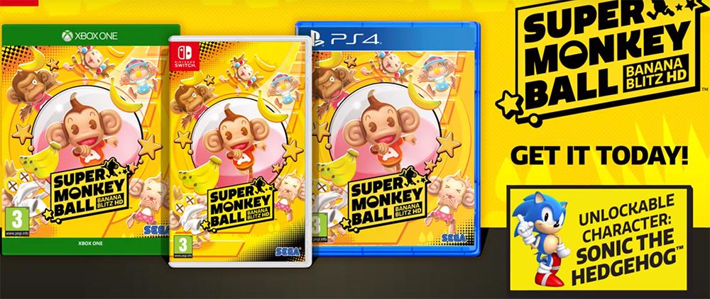 Super Monkey Ball: Banana Blitz HD is nu verkrijgbaar!