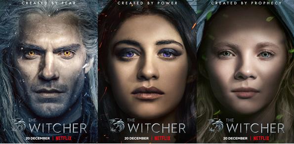 Netflix toont nieuwe beelden uit The Witcher: ontmoet de 3 hoofdrolspelers