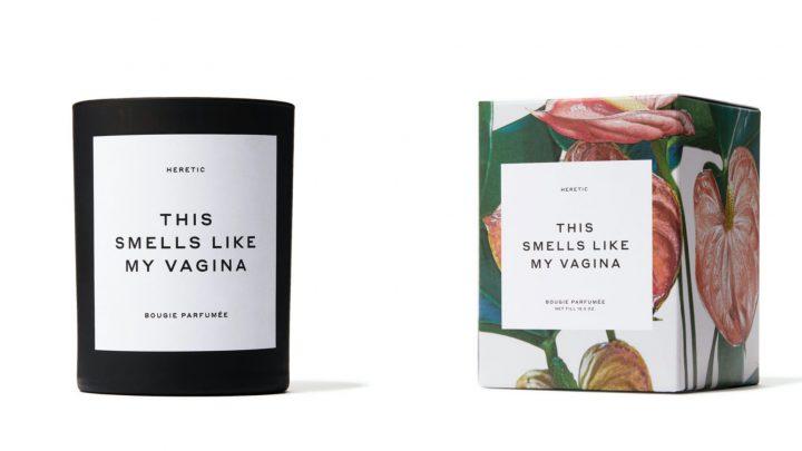 Woonkamer naar vagina laten ruiken is schijnbaar helemaal in!