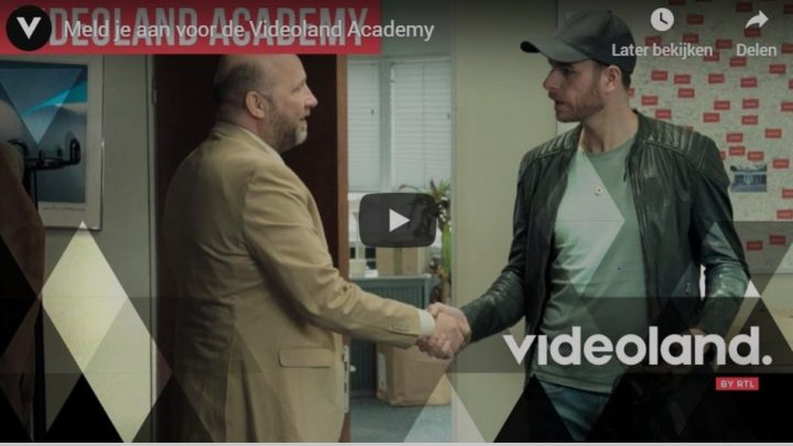 Pitch Videoland Academy nu open voor nieuwe lichting makers