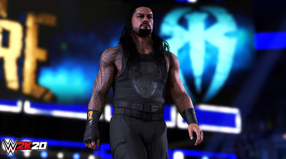 """Step Inside"" WWE® 2K20 en ervaar enkele primeurs met coversterren Becky Lynch® and Roman Reigns™"