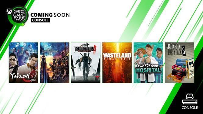 Binnenkort beschikbaar bij Xbox Game Pass voor console: Kingdom Hearts III, Yakuza 0, Wasteland Remastered, en meer