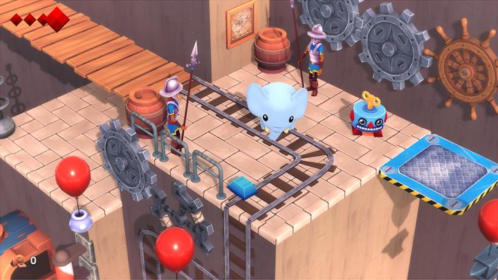 Kleurrijke indiegame Yono and the Celestial Elephants vanaf 31 oktober in de winkels voor Nintendo Switch