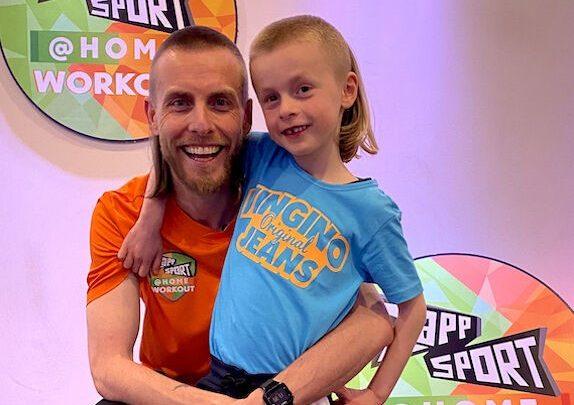 Zappsport introduceert Zappsport@home om kinderen in beweging te houden