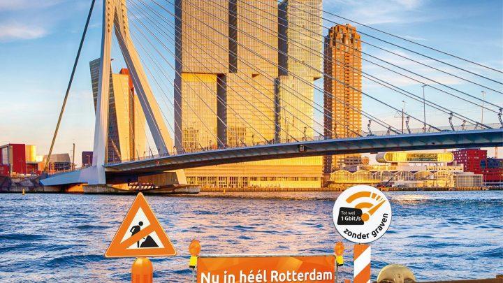 Ziggo biedt heel Rotterdam gigabit-internet